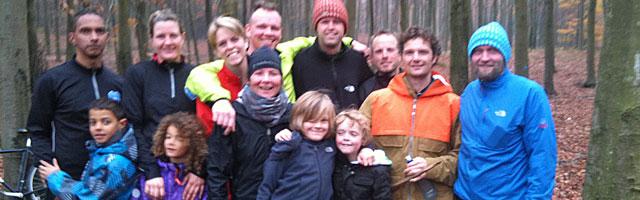 Løbeklubben Lange Ben til Skovmarathon i St. Dyrehave